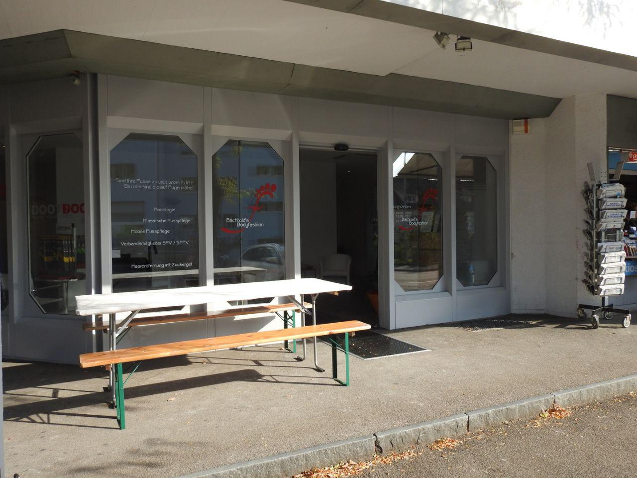 Eingang zur Podologie/Fusspflege Praxis